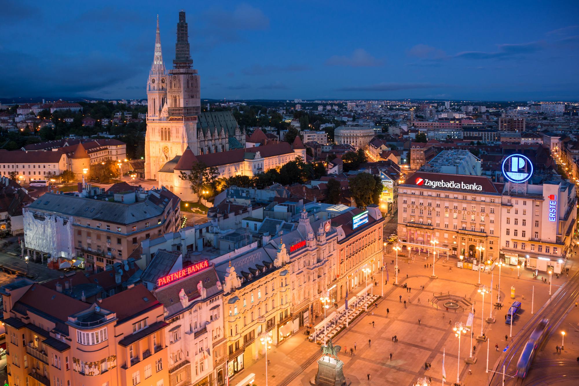 Zagreb Croatia  city photo : New York Times writes about Hotel President!