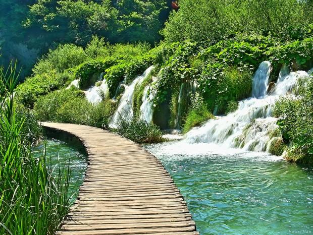 A bit smaller waterfalls