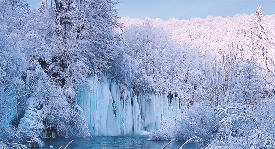 Plitvice during winter