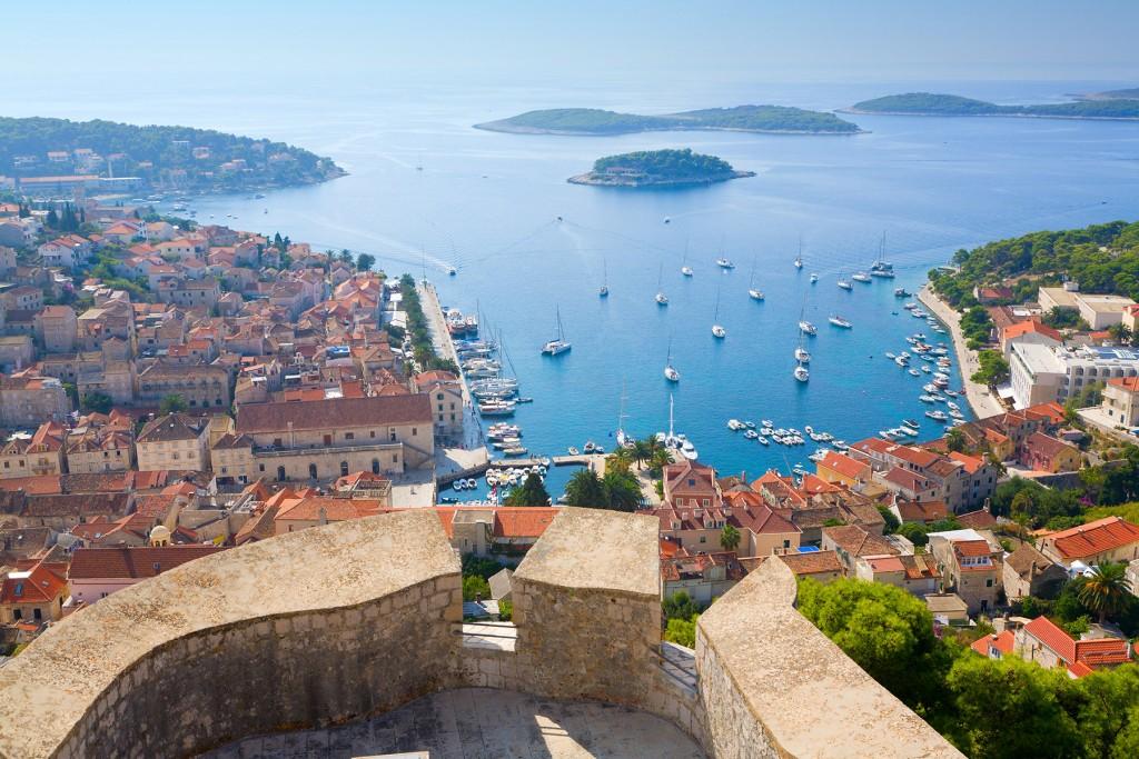 Hvar, island in Dalmatia