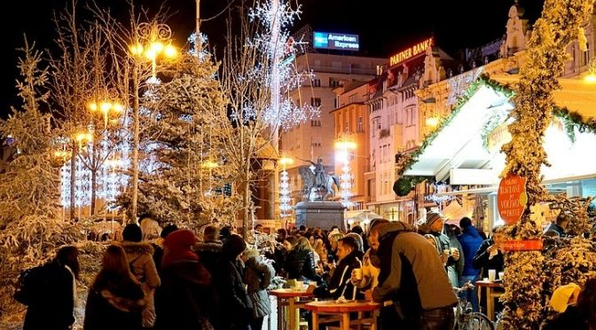 Advent on Ban Jelacic Square