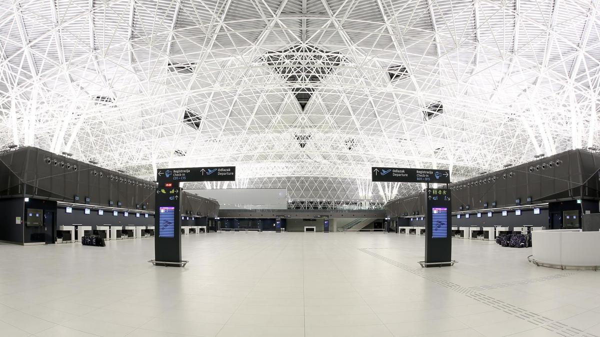 New Zagreb Airport Opened President Pantovcak