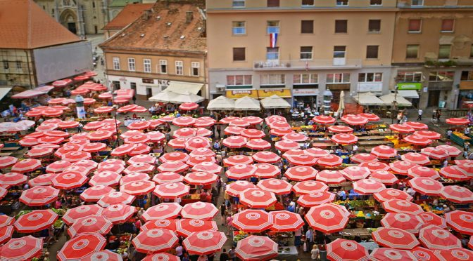 Markets in Zagreb