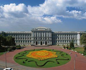 Mimara Museum with surroundings